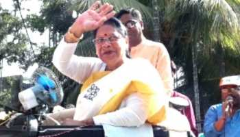 नेताजी के भतीजे और बीजेपी प्रत्याशी चंद्र कुमार बोस हारे, TMC की माला रॉय ने हराया