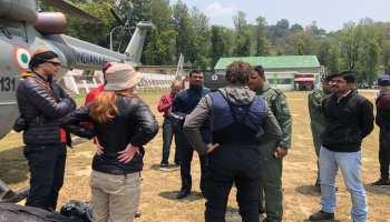 उत्तराखंड: नंदा देवी में पर्वतारोहियों के रेस्क्यू का आज छठा दिन, 8 लोग लापता, 5 शव देखे गए