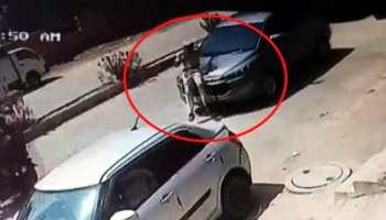 BJP नेता की दबंगई, होमगार्ड को 300 मीटर कार की बोनट पर घसीटा