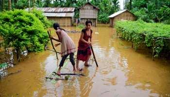 उत्तर से पूर्व तक बाढ़ का कहर, असम-बिहार में 49 की मौत, चेन्नई,दिल्ली में बारिश का इंतजार खत्म