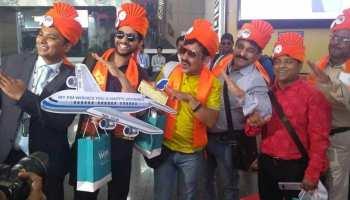 इंदौर एयरपोर्ट से शुरू हुई अंतर्राष्ट्रीय उड़ानें, एयर इंडिया का विमान दुबई रवाना