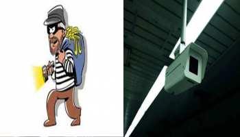 सीकर: खंजेला में चोर ने मनाया जमकर उत्पात, CCTV में कैद वारदात