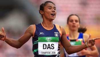Athletics: हिमा दास की गोल्डन उड़ान जोरों पर, तीन हफ्तों में जीता 5वां सोना