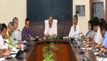 जयपुर: 15 अगस्त के राज्य स्तरीय समारोह के तैयारियों को लेकर हुई बैठक