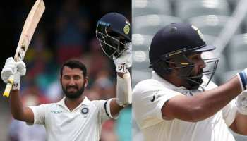 अभ्यास मैच में छाई पुजारा की सेंचुरी, रोहित ने फिफ्टी लगाकर अपना दावा किया मजबूत