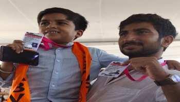 राजस्थान: छात्रसंघ चुनाव में 4 फीट 1 इंच के महावीर गोलियां भी जमकर कर रहे प्रचार