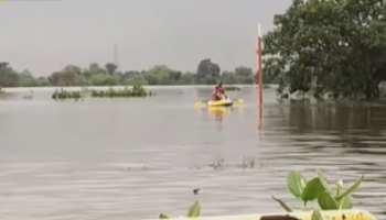 डूंगरपुर में मुसलाधार बारिश का दौर जारी, लोगों का जीवन हुआ अस्त-व्यस्त