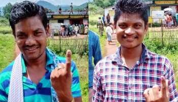 दंतेवाड़ा उपचुनाव LIVE: चुनावी बहिष्कार की मीटिंग लेने वाले आत्मसमर्पित नक्सलियों ने किया मतदान
