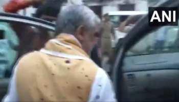 पटना: अश्विनी चौबे पर युवक ने फेंकी स्याही, PMCH पहुंचे थे डेंगू मरीजों से मिलने
