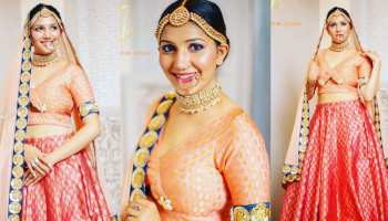 Sapna Chaudhary did the bridal photoshoot, the stunning look went viral