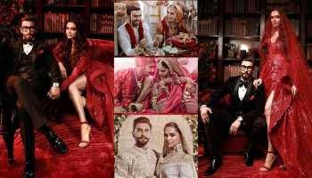 First wedding anniversary of Deepika Padukone and Ranveer Singh's, see their wadding album