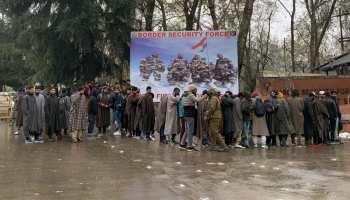 जम्मू कश्मीर में BSF और CISF की भर्ती कैंप, युवाओं में भारी उत्साह