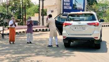 VIDEO: भोपाल की सड़कों पर निकले CM शिवराज, COVID-19 वॉरियर्स को हाथ जोड़कर कहा धन्यवाद