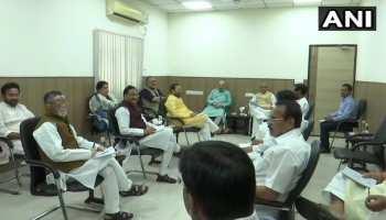 कोरोना वायरस के प्रकोप के बीच राजनाथ सिंह के घर पर मंत्री समूह की बैठक