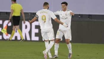 फुटबॉल: रियल मैड्रिड की लगातार 8वीं जीत, ला लीगा खिताब के करीब पहुंची टीम