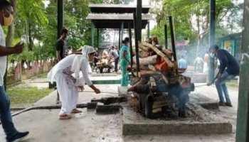 असम में हिन्दू भाई का मुस्लिम बहन ने किया अंतिम संस्कार, खुद ही दी मुखाग्नि