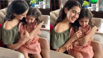 sara ali khan meet her cute sister inaya see photos