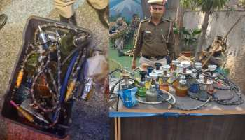 Delhi Police Pawri Tweet seized twenty four hookah from rajouri garden see images crime latest news