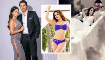 daniel weber started to work with sunny leone in erotic film when he could see her with other guy