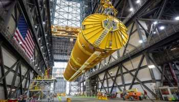 The first picture of NASA's 'megarocket' surfaced Space Launch System