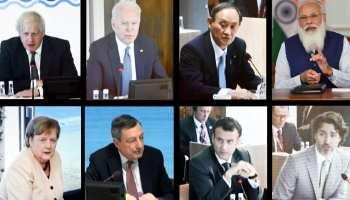 G-7 के नेता टीका, चीन और बहुराष्ट्रीय कंपनियों के न्यूनतम कर को लेकर सहमत
