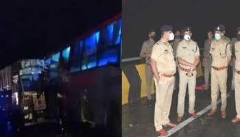 Barabanki में भीषण सड़क हादसा, ट्रक और बस की जोरदार टक्कर में 18 लोगों की मौत