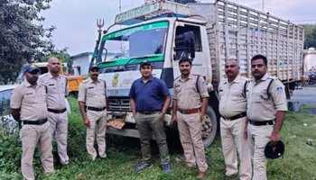 सीधी पुलिस ने सवा करोड़ का गांजा, नमक की बोरियों में छुपाकर हो रही थी तस्करी