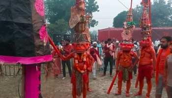 दशहरा पर पाकिस्तान से आई परंपरा निभाने के बाद ही कैथल में होता है रावण दहन