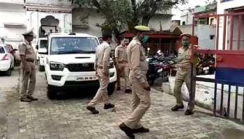 आगरा के पुलिस स्टेशन में ही हो गई सेंधमारी, मालखाने से 25 लाख रुपए और दो पिस्टल ले उड़े चोर