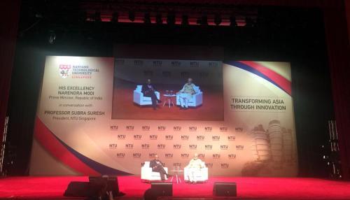 हमारे सामने चुनौतियों के मुकाबले मौके ज्यादा हैं- यूनिवर्सिटी के छात्रों से बोले PM मोदी