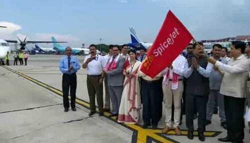 असम: गुवाहाटी-ढाका के बीच पहली अंतरराष्ट्रीय विमान सेवा शुरू, सीएम ने दिखाई हरी झंडी