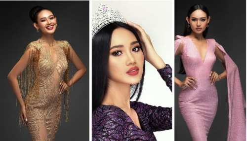 know who is Miss Grand Myanmar 2020 han lay became the face of Myanmar anti coup protest