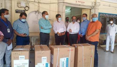 Alwar News : युवाओं ने बढ़ाये मदद के हाथ, कोरोना पीड़ितों को ऑक्सीजन कॉन्सेंट्रेटर की निशुल्क सेवा
