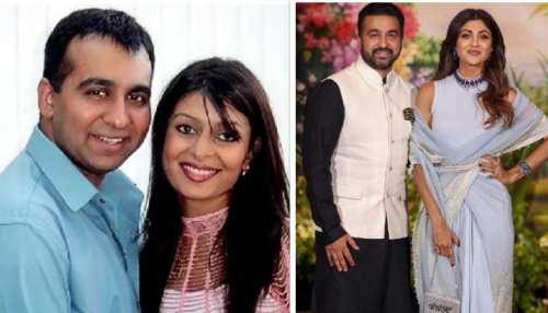raj kundra left her new born bay and wife kavita for shilpa shetty