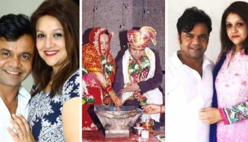 comedy king rajpal yadav tied the knot with nine year younger radha after fall in love