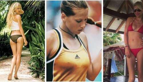 russian american tennis player beautiful anna kournikova sizzling pics instagram love story career