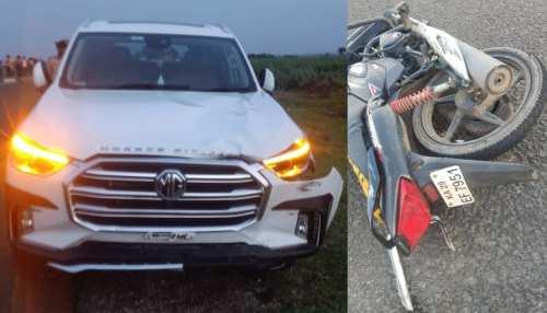 Karnataka: उपमुख्यमंत्री Laxman Savadi के बेटे की कार का एक्सीडेंट, एक किसान की मौत