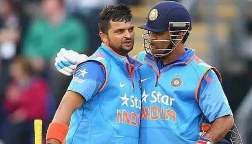 जब मैदान पर बल्लेबाजी करने रैना आये तो धोनी भी बोल उठे, आओ कप्तान साहब आओ, पूरी स्टोरी पढ़ें