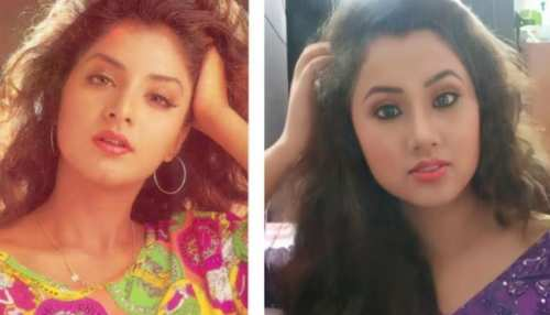 divya bharti look alike photos viral on social media see her photos