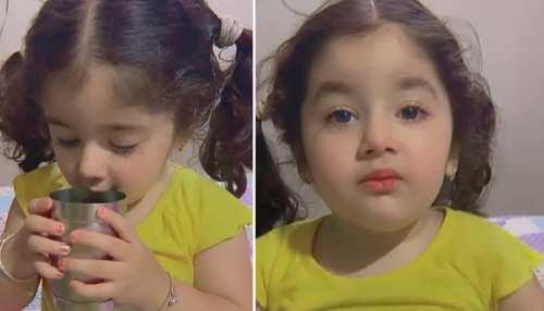 Cute Baby ने बुआ से की दिल को छू लेनी वाली बात, लोग बोले- दुनिया का सबसे प्यारी बच्ची