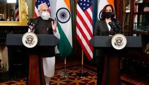 अमेरिका में मोदी पावर! PM Modi से मिलीं Kamala Harris, भारत की जमकर तारीफ की