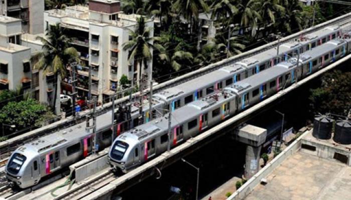 मुंबई मेट्रो से 59 घंटे में 10 लाख यात्रियों ने सफर किया
