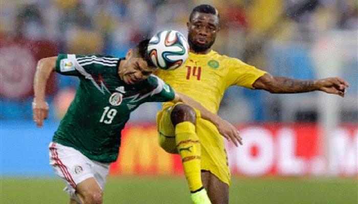 फीफा वर्ल्ड कप 2014: पेराल्टा के गोल की बदौलत मैक्सिको ने कैमरून को हराया