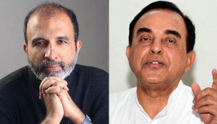 कांग्रेस प्रवक्ता संजय झा ने सुब्रमण्यम स्वामी से मांगी माफी