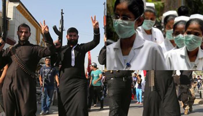 इराक में फंसी दो भारतीय नर्स निकाली गईं, 8 अन्य वापस लौटे