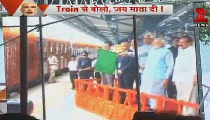 उधमपुर-कटरा रेल सेवा शुरू, पहली ट्रेन का नाम 'श्री शक्ति एक्सप्रेस'