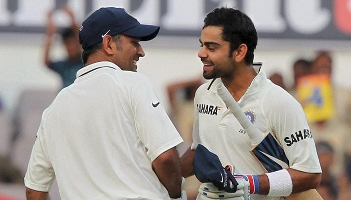 टीम इंडिया की कप्तानी के लिए धोनी सही व्यक्ति, विराट का समय आएगा: द्रविड़