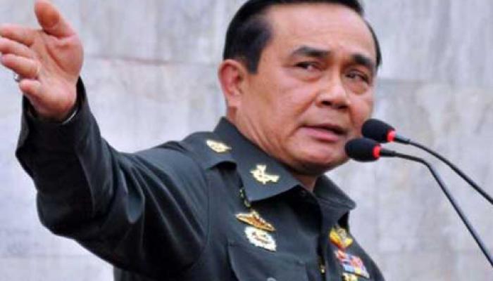 थाई सेना प्रमुख ने संभाला प्रधानमंत्री का पद
