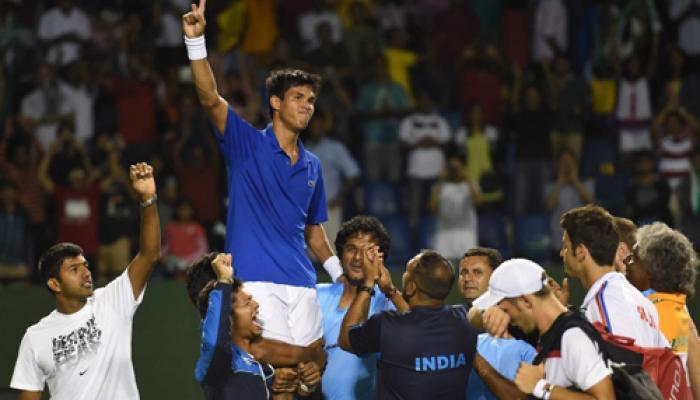 डेविस कप : सोमदेव की शानदार जीत, भारतीय उम्मीदें अब भी कायम