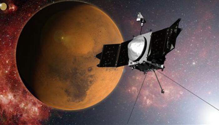 नासा का यान मैवेन मंगल की कक्षा में दाखिल